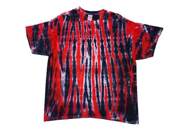 Adult XL Tiger Pattern Shirt