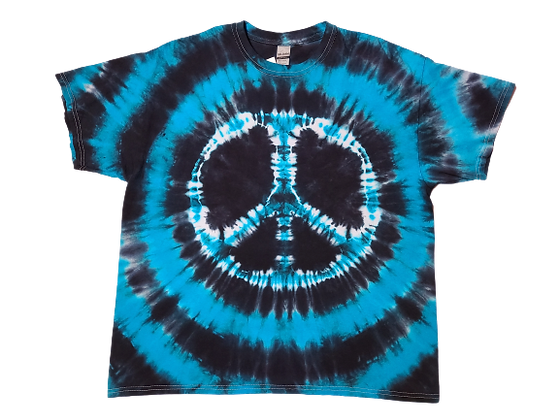 Adult XL Peace Sign Shirt