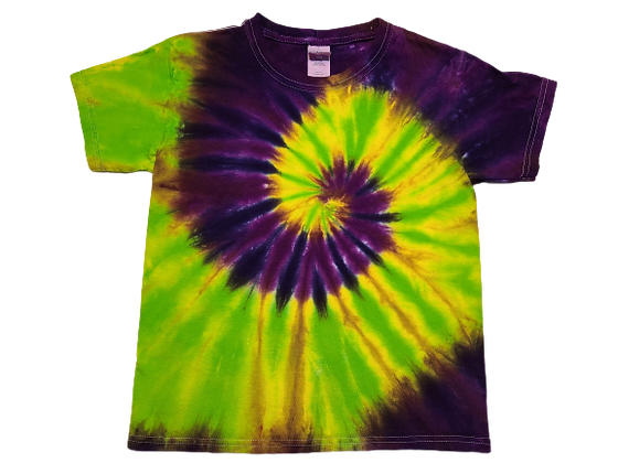 Kid's Small Four Color Two Spiral Shirt
