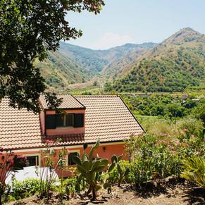 Esterna Villa vista Valle