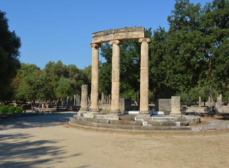 Ancient Olympia by Zarifah Nawar