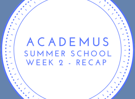 Summer School Roundup - Week 2