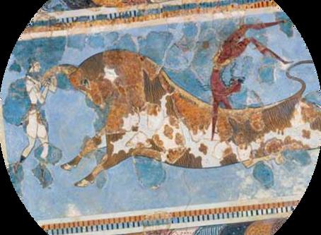 Ariadne; from damsel in distress to Goddess