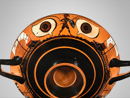 Ancient Greek Eye Cups By Zarifah Nawar