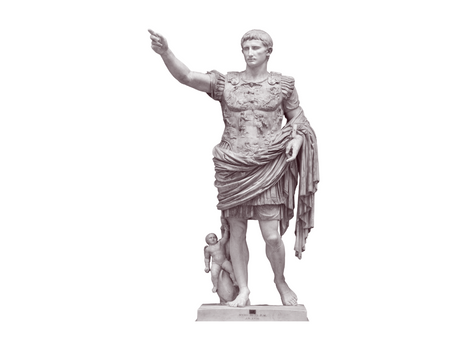 Augustus of Prima Porta by Peter Xiao