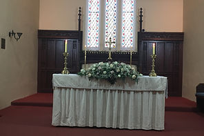 The Altar at St Matthew's