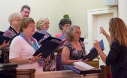 Amy - Leading the Choir