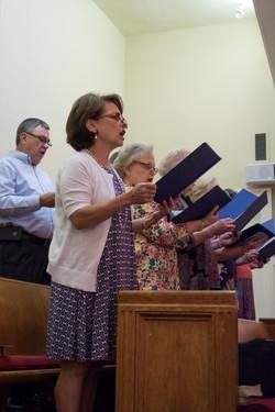 Choir Standing