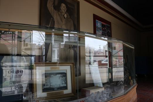 Historic Glass Case