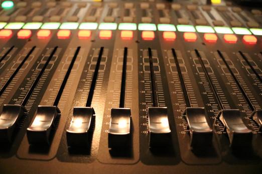 Sound Board Faders