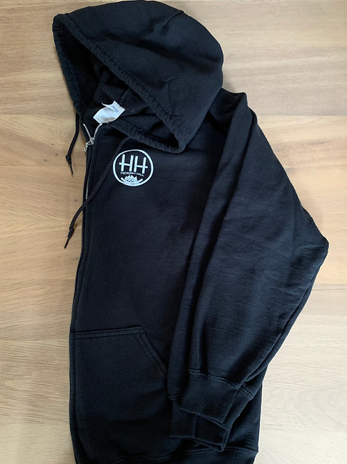 Hickory Hill zip-up hooded sweatshirt