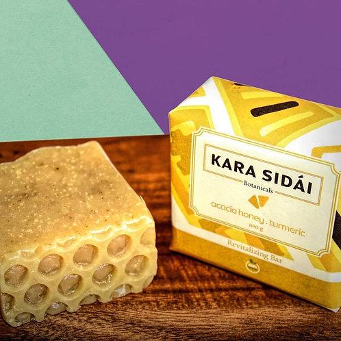 Kara Sidai Acacia, Honey and Tumeric Revitalizing Bar