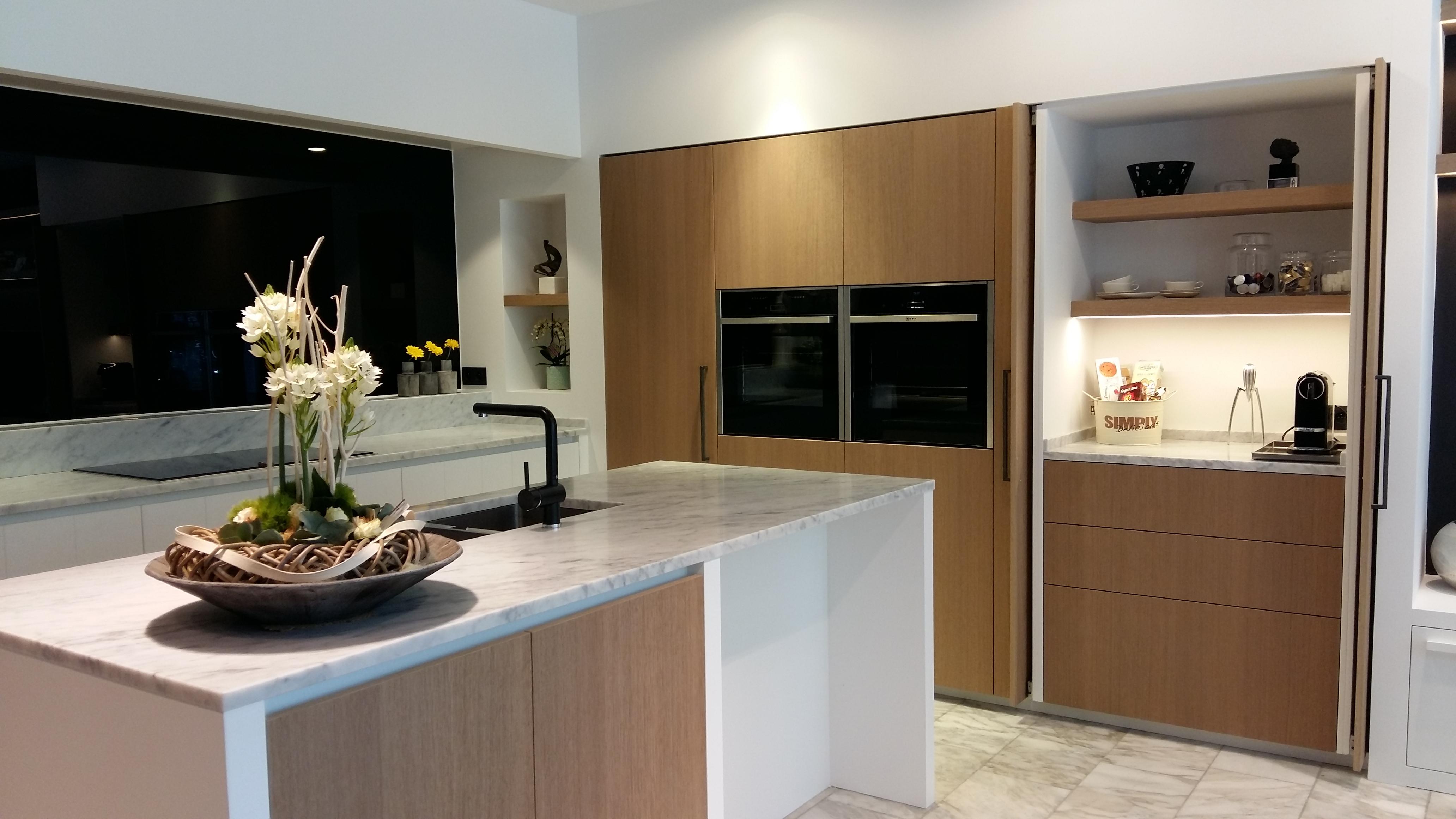 Moderne keuken met landelijke touch