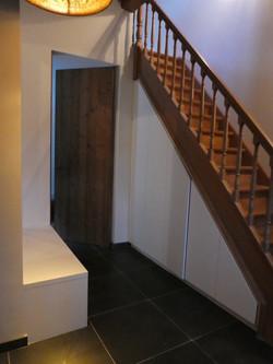 Kasten onder trap