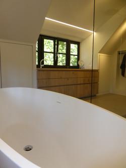 Tijdloos landelijke badkamer