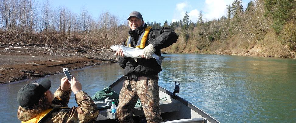 River sportfishing, steelhead fishing. Fishing for salmon, halibut, dungeness crab.