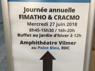 Retour sur la journée annuelle FIMATHO 2018