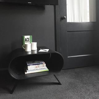 2P Table in Ebonized Oak Veneer