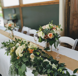 Head Table Flowers