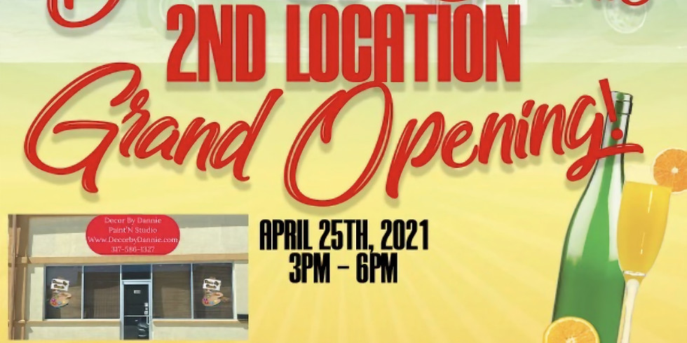 2nd location Grand Opening