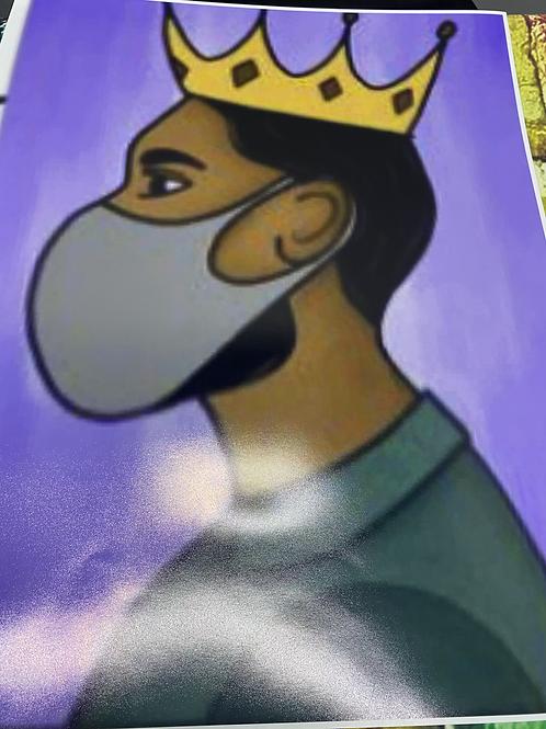 King w/ Mask