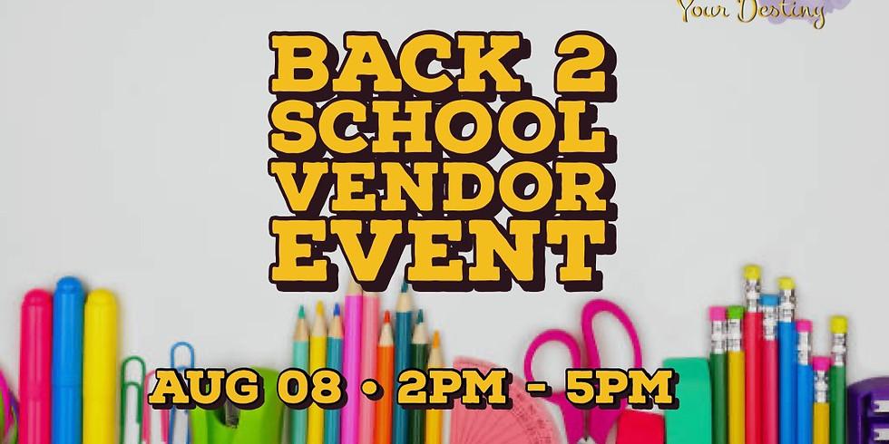 Back to School Vendor Event