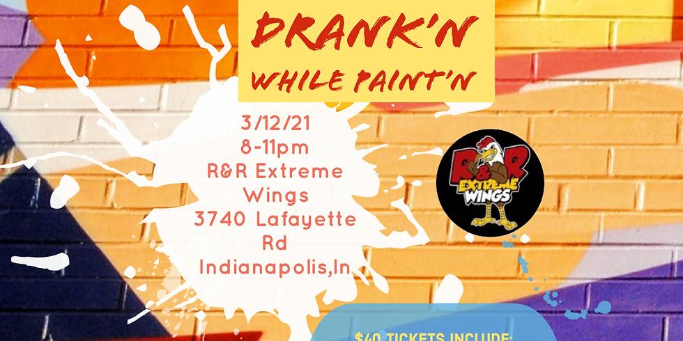 Eat'N Drank'N while Paint'N