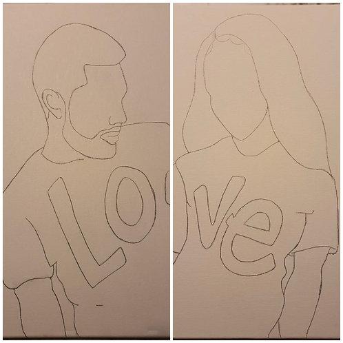 Love Couple kit