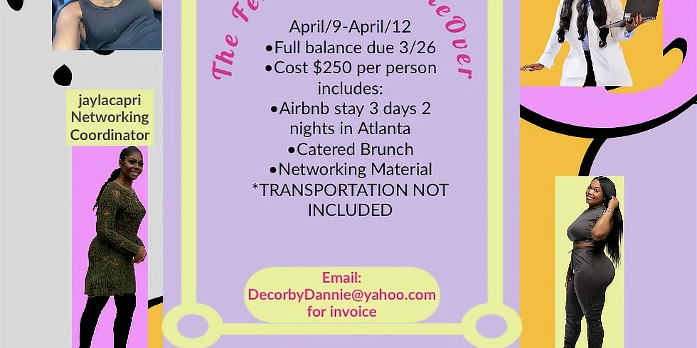 Decor By Dannie presents The Fempreneur Takeover