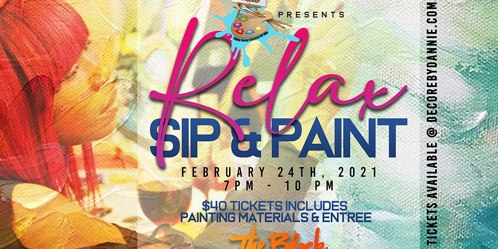 Relax Sip & Paint