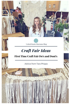 Craft Fair Ideas - First Time Craft Fair Do's and Dont's