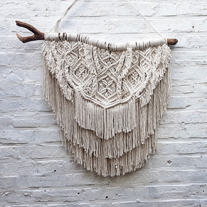 """Advanced macrame patterns process - the """"no designing"""" way explained"""