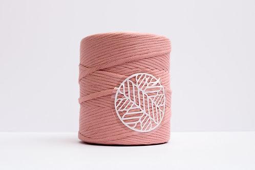 Rose Pink 5mm Macrame Cord Single Ply 220 Meters