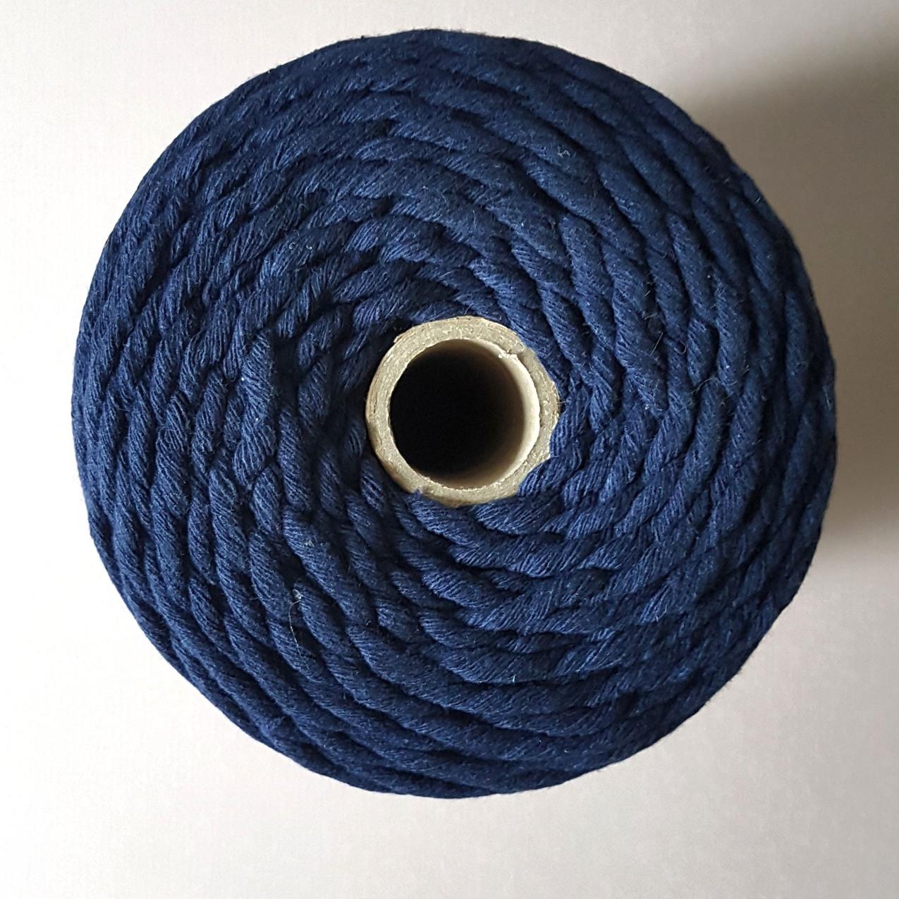 Blue Macrame cord