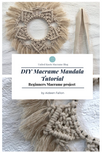 Macrame Mandala Tutorial - DIY Macrame Project- Macrame Pattern tutorial