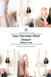 30 Minutes Macrame Plant Hanger - Without a ring  Macrame Pattern and Full Tutorial