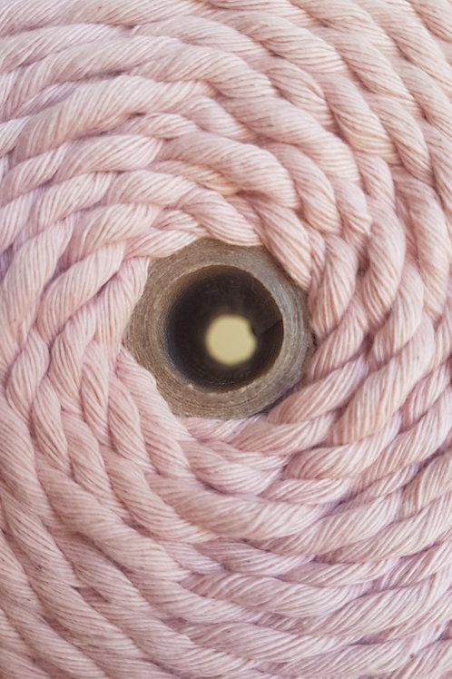 3.5mm Blush Single Ply Macrame Cord