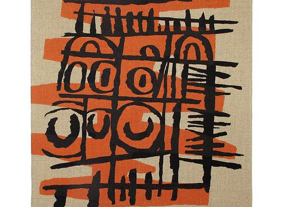 Sgraffito III - Textile Panel