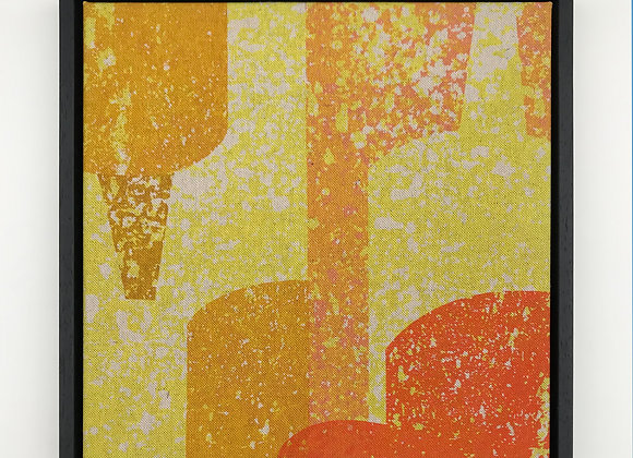 Sunshine 2 - Framed Fabric Panel