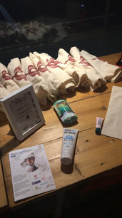 Goody Bag Raffle Prizes - 10 Given Away