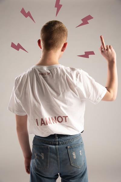 Slogan Tees: I AM NOT