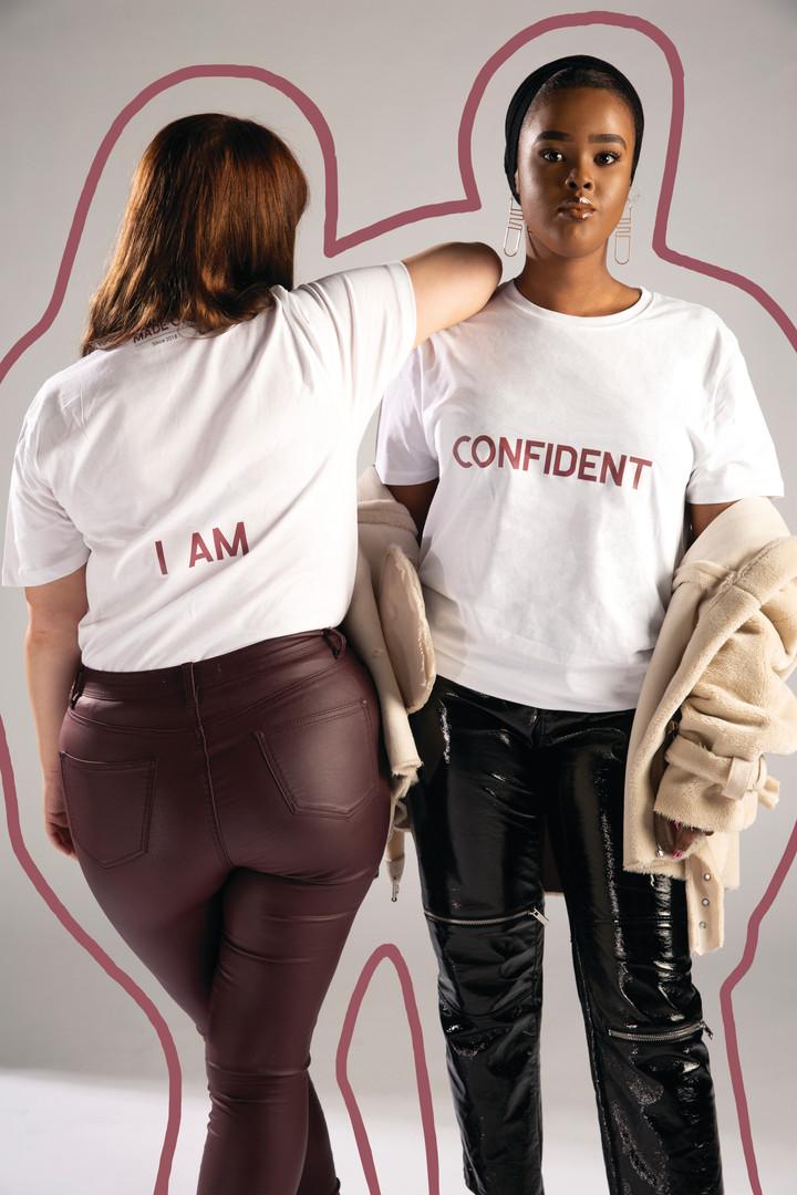 Slogan Tees: I AM CONFIDENT