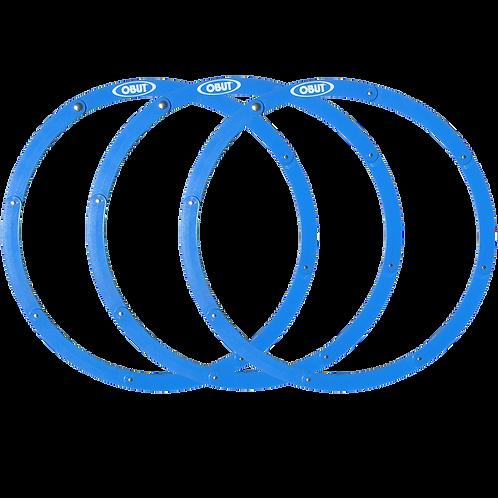 12 cercles de pétanque pliants Obut