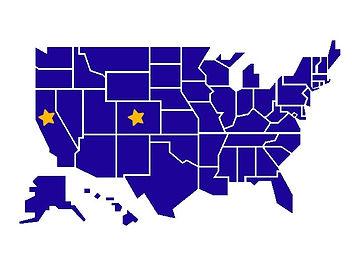 States of Inorporation: Colorado and California
