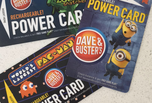 Dave & Buster's Day