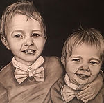 art image of charle and his brother