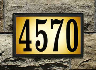 House Numbers Save Lives