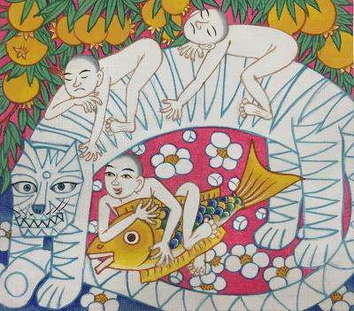 신진환 미륵부처님 오시다 호랑이 3