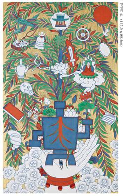 35_관음의 수인나무