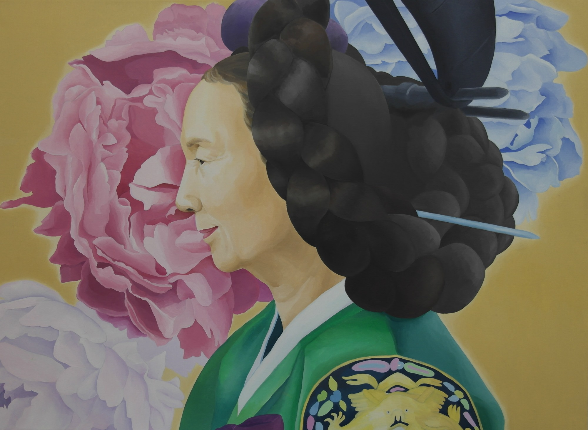 Portrait of Young-za Lee Il